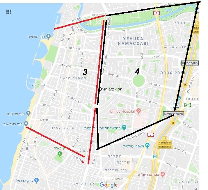 תכנית הרובעים בתל אביב